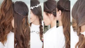 Peinados F Ciles Y R Pidos Verano Pretty And Ol Youtube
