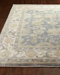 image 1 of 2 blue ivy oushak rug 10 x 14