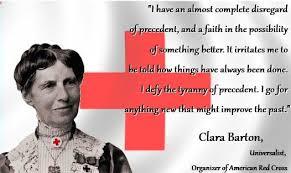 Clara Barton Quotes Adorable Nurse Clara Barton Quotes QuotesGram By Quotesgram Interesting