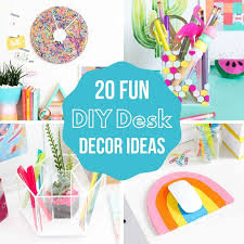 20 colorful diy desk decor ideas to keep you organized the handyman s daughter