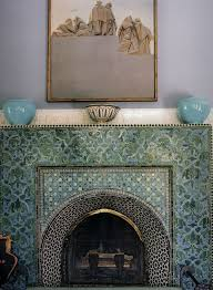 Decorative Tiles For Fireplace 60 best Fireplaces Hearths images on Pinterest Fire places 31