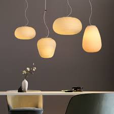 Asian Ceiling Lights Us 120 0 40 Off Southeast Asian Japanese Style Creative Tatami Glass Pendant Light Restaurant Bar Dining Room Hanging Lamp In Pendant Lights From