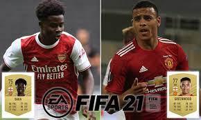 Bukayo Saka and Mason Greenwood among the most-improved young players in FIFA  21