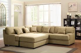 Sectionals And Sofas Furniture Oversized Sectionals Sofa In Cream With Matching