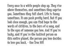 One Tree Hill Quotes About Friendship One Tree Hill Quotes About Friendship Glamorous 100 'one Tree Hill 9