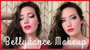 easy bellydance eye makeup tutorial