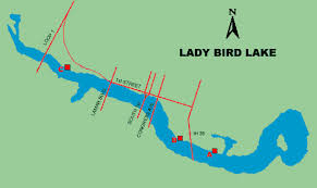Barton Lake Depth Chart Fishing Lady Bird Lake