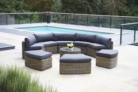 piece mayfair curved modular rattan garden furniture set bridgman curved patio furniture homesandgarden tk