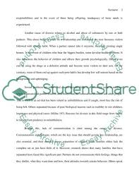 Cause And Effect The Causes And Effects Of Divorce Essay