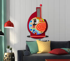 3d Wall Art 22 Abstract 3d Wall Art Inferno 3d Modern Abstract Metal Wall Art