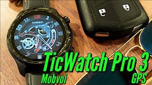 Mobvoi <b>TicWatch Pro 3 GPS</b>: Galaxy Watch 3 Killer? - YouTube