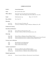 Medical Student Resume Berathencom. 6 Curriculum Vitae Medical