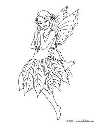 Small Picture Fairy leaf dress coloring pages Hellokidscom