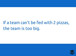 of the best social media slideshares the 2 pizza rule