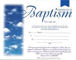 Baptism Certificate Baptism Certificate Certificate Baptism Christian Supply