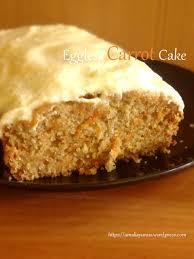 Eggless Carrot Cake Cake Wortel Tanpa Telur