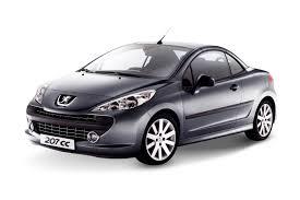 2016 Peugeot 207 CC 1.6 Turbo, 1.6L 4cyl Petrol Turbocharged ...