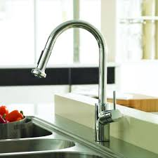 Hansgrohe Talis Kitchen Faucet Hansgrohe Talis S Single Handle Pull Down Sprayer Kitchen Faucet