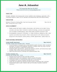 Best Resume Format For Nurses Best Resume Format 48 Nurses Samples Templates For Best Of Free