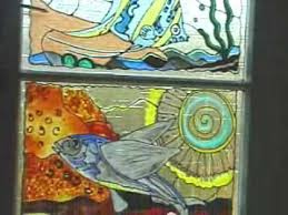 how to make faux stained glass panels tips
