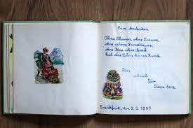 Buch Der Freunde Ein Poesiealbum Für Erwachsene