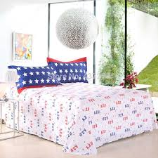 american flag cotton duvet cover set with sheets bedclothes twin full queen king mickey mouse o