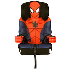 kids embrace group 1 2 3 booster car seat spiderman