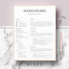 Professional Design Resume Resume Templates Modern Professional Resume Design Cv Template For Word Pages Modern Curriculum Vitae Instant Download Resume Format