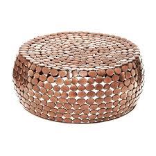 wonderful copper coffee table copper pebble coffee table marble coffee table copper legs