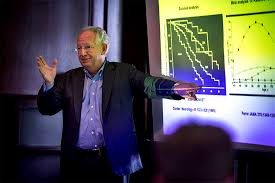 tulane university drug pioneer shares his career students dr steven paul lectures at tulane