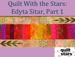 Quilt With the Stars: Edyta Sitar, Part 1 | Mug Rugs and small ... & Quilt With the Stars: Edyta Sitar, Part 1 Adamdwight.com