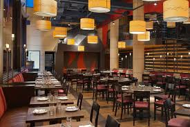lighting for restaurant. fashionable luxury hospitality interior design hilton fashion 26 hotel nyc restaurant lighting for u