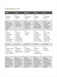 048 Daily Routine Calendar Template Ideas Avopix