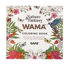 nature fantasy wama coloring book susan s books gifts nature fantasy wama coloring book