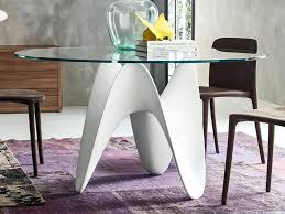 stylish round dining table contemporary round dining table thumbnail stylish dining table for small spaces