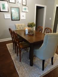 Under Dining Table Rugs Beautiful Ideas Rugs Under Dining Table Interesting Idea Rug Under