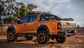 Truck chevy concept truck : Chevrolet Colorado Xtreme Concept is a Tease