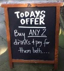 Restaurant Chalkboards 10 Of Our Favorite Funny Clever And Outrageous Chalkboard