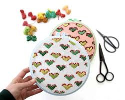 <b>Cactus Love</b> Embroidery (Download the Pattern) - A Beautiful Mess
