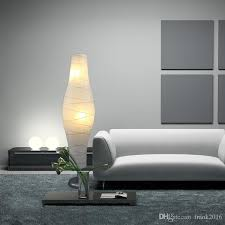 mainstays rice paper floor lamp dark wood finish