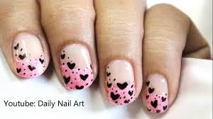 Pink Tips - Cute nail designs in pink nail polish nail art (french ...