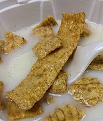 An extremely long piece of cinnamon toast crunch pics
