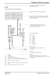 skoda octavia ii electric wiring diagram service manual 1st page