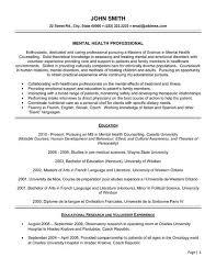 Resume Template Healthcare Professional Resume Sample Best Sample