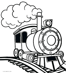 steam locomotive coloring pages train engine free color
