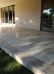 travertine flooring patio