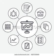 stock vector report icons set set of report outline icons such as paper check list checklist meeting 603728888 chart paper set form stock images, royalty free images & vectors on good meeting agenda outline template