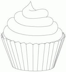 cupcakes drawing black and white. Modren Drawing Frosting Clipart Black Cupcake 5 In Cupcakes Drawing Black And White G