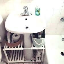 pedestal sink ideas corner pedestal sink under pedestal sink storage under pedestal sink organizer best pedestal