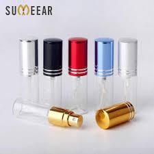 100PC/<b>Lot</b> 3ml <b>Portable</b> Sample Spray Bottle Transparet Glass ...